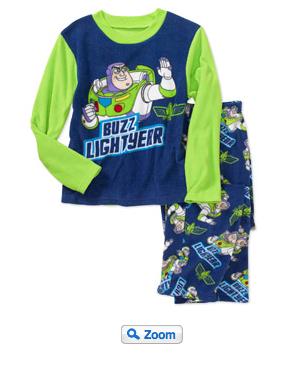 Walmart Microfleece Pajama Sets for Kids $8!