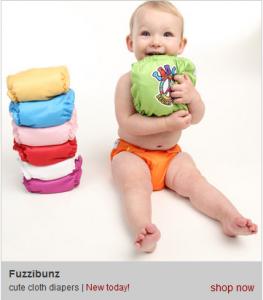 Zulily: Fuzzibunz One Size Cloth Diaper $13.99!