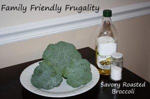 Savory Roasted Broccoli Recipe