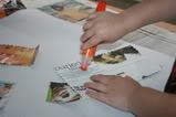Tot Tuesday: Make a Magazine Alphabet Collage!
