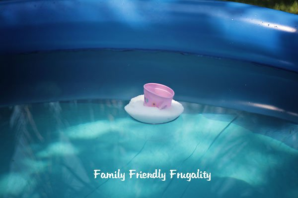 Make Your Own Frugal Chlorine Tab Floater