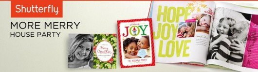 Free Shutterfly House Party with Free Photobooks!