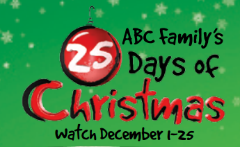Abc Family Christmas.Abc Family 25 Days Of Christmas Schedule 2012