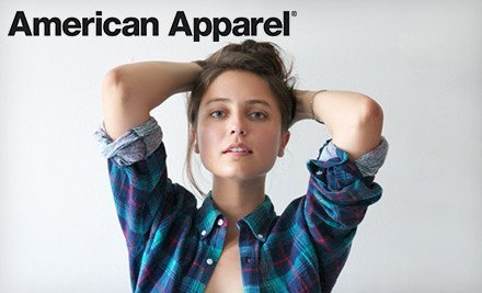 American Apparel Groupon