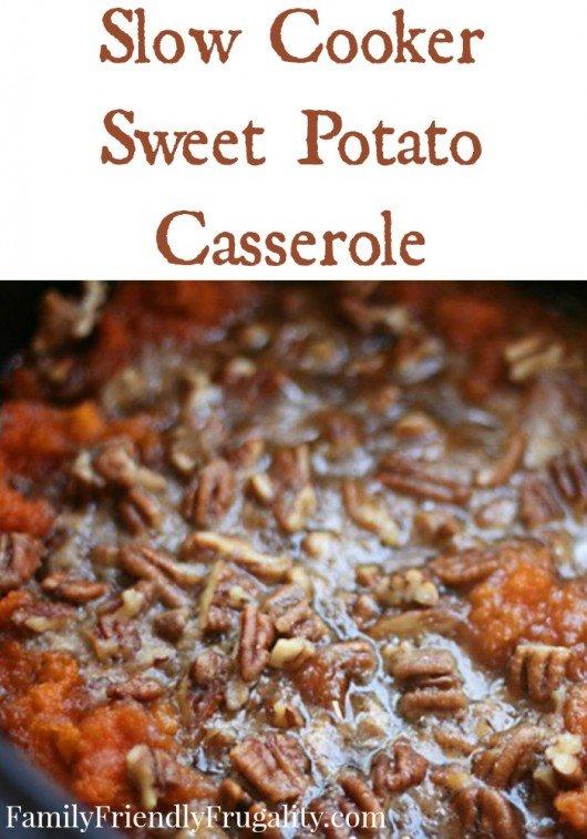 Sweet Potato Casserole FFF