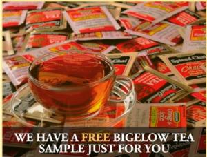 Free Bigelow Tea