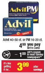 CVS: Advil Money Maker Through 2/2!