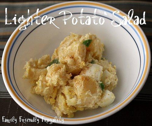 Lighter Potato Salad