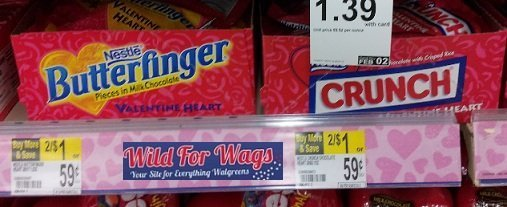 Nestle Valentines Hearts Just $.20 Each at Walgreens