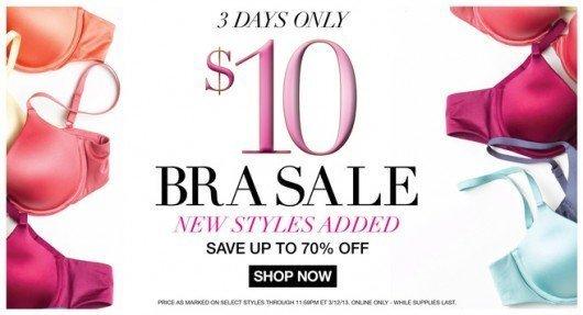 Maidenform $10 Bra Sale + FREE Shipping!