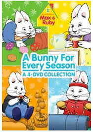 $4/1 Max and Ruby: A Bunny for Every Season DVD = $15.96!