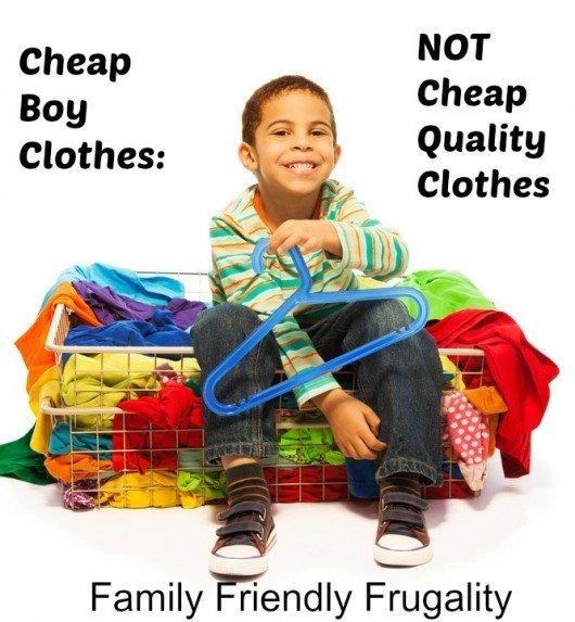 Cheap Boy Clothes Doesn't Mean Cheap Quality