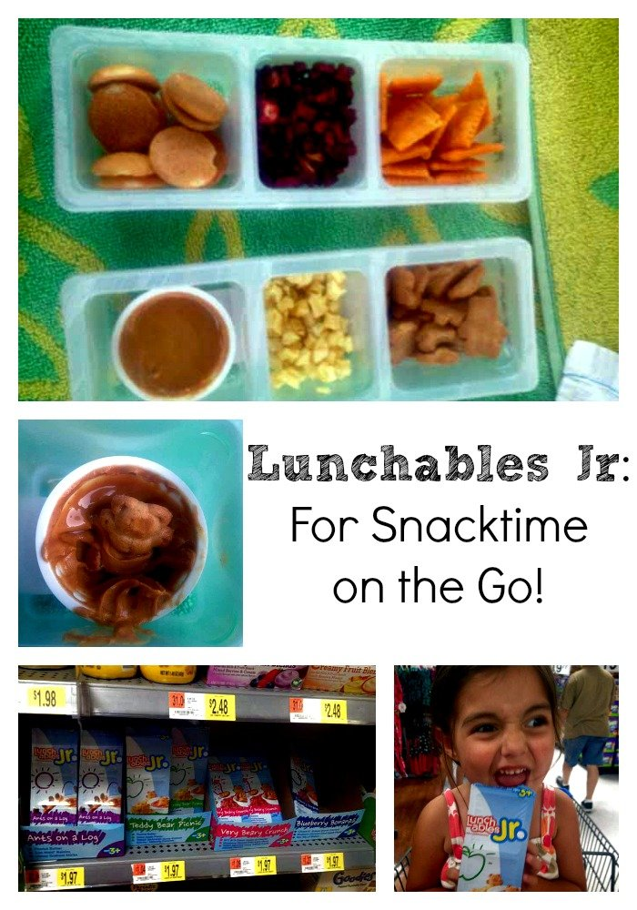 #LunchablesJR: For Snacktime on the Go (Plus $.75 Off Printable Coupon)