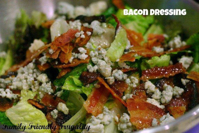 bacon dressing recipe