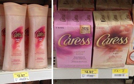 Walmart Deal: Caress Body Wash $.97