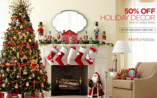 jcpenney has a great 50 off christmas decor holiday sale going on right now - Jcpenney Christmas Decorations