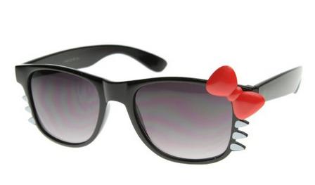Amazon: Cute Ladies Retro Fashion Kitty Sunglasses w/Bow & Whiskers $6.49 (Reg. $30)!