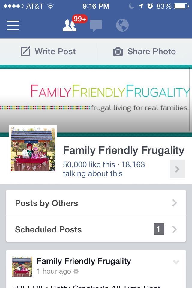 Facebook 50k