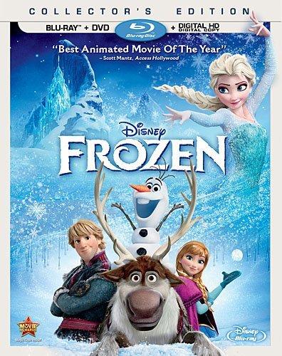 Win a Copy of Disney's FROZEN on DVD/Blu Ray Combo Pack