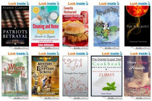 10 FREE Ebooks: Favorite Restaurant CopyCat Recipes, A Patriots Betrayal & More