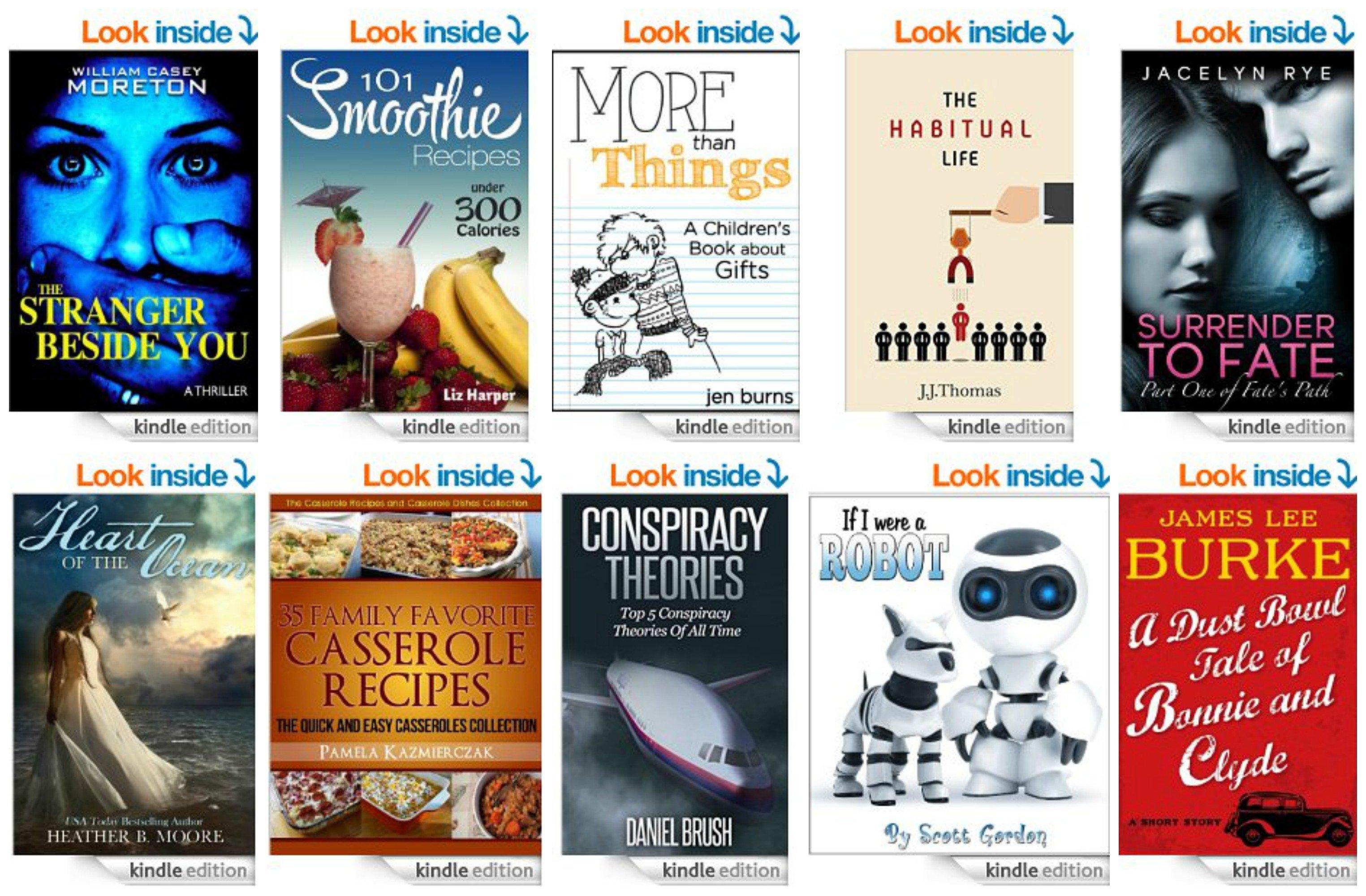 10 Free Kindle Ebooks: Family Favorite Casserole Recipes, The Stranger Beside You, The Habitual Life & More