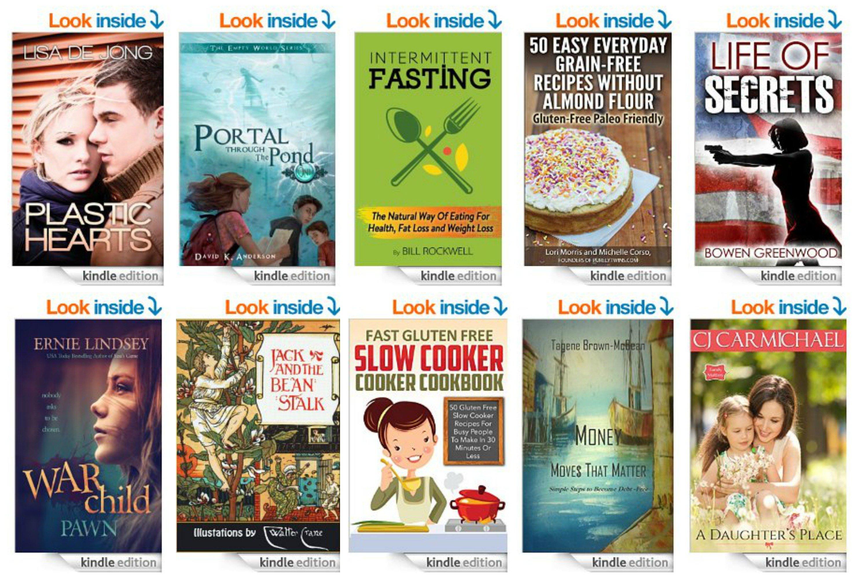 10 Free Kindle Ebooks: 50 Grain Free Re cipes, War Child, Gluten Free Slow Cooker Cookbook