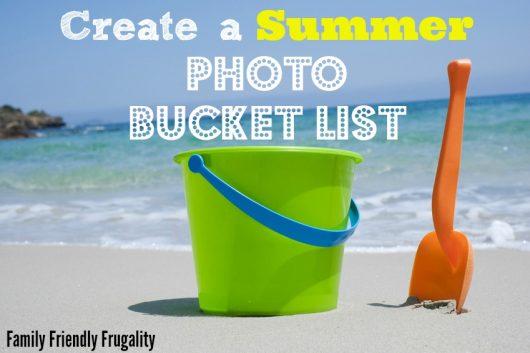 Join Me & Create a 2014 Summer Photo Bucket List!