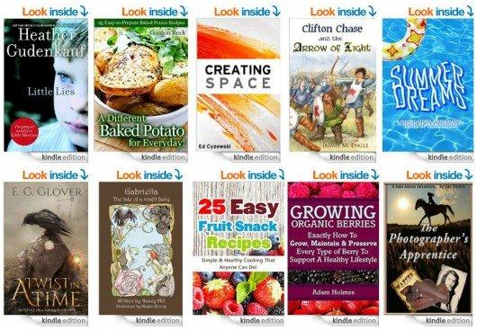 10 Free Kindle Books 8-12-14