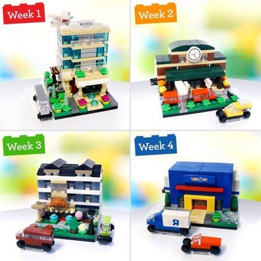 FREE Lego Mini LEGO City Kayak Build at TRU on 10/17