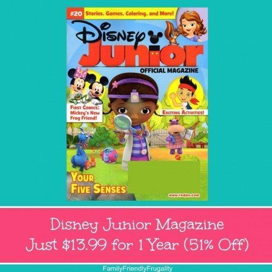 Disney Junior Magazine Just $13.99 for 1 Year (76% Off)