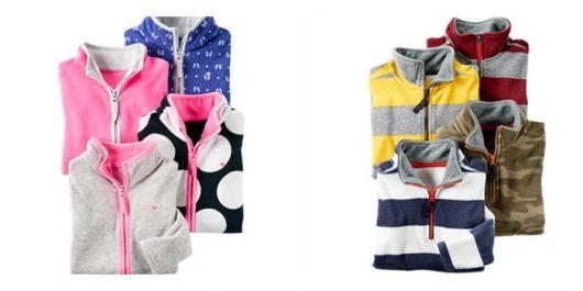 Carter's Doorbuster Deals : $5 Fleece Pullovers