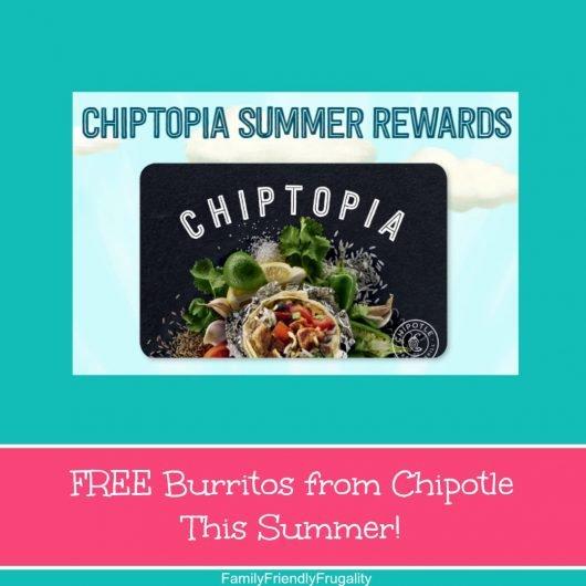 chipotle free burritos