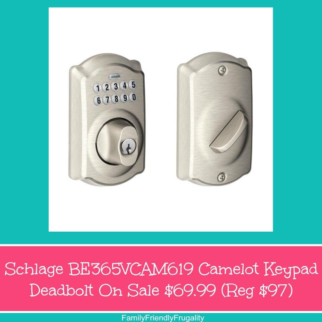 Schlage Lock Plymouth Keypad Deadbolt For Glamorous