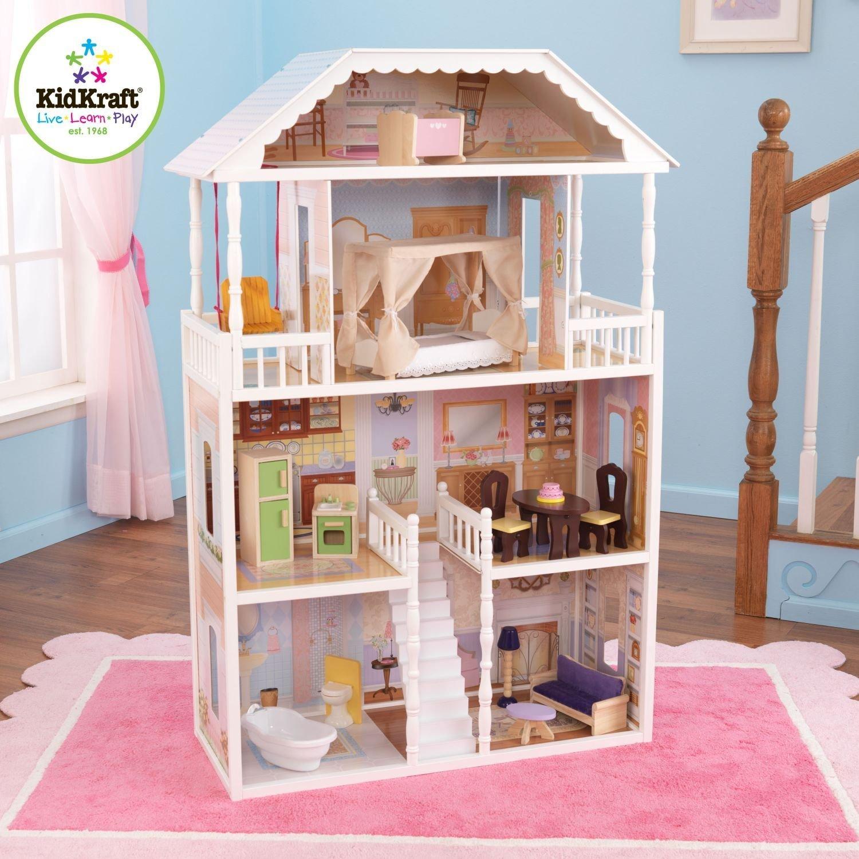 Kidkraft Savannah Dollhouse W Furniture Only 89 97