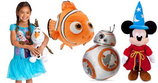 Disney Store: FREE Shipping (No Minimum) = Medium Plush Toys Only $10 Shipped!