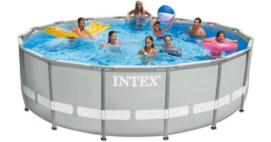 Target Intex 15 X 48 Ultra Frame Above Ground Pool W