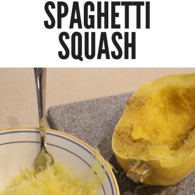 Easy Instant Pot Spaghetti Squash!