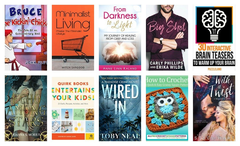 10 Free Kindle Ebooks: Minimalist Living, Big Shot, With A Tiwst