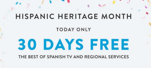 30 FREE Days of Sling TV!