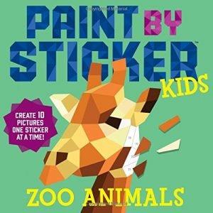 Paint by Sticker Kids: Zoo Animals On Sale $5.97 (Reg $10)