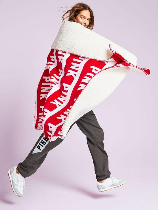 Victoria's Secret Sherpa Blanket & Free Beauty Item Just $40 Shipped (Reg $83)