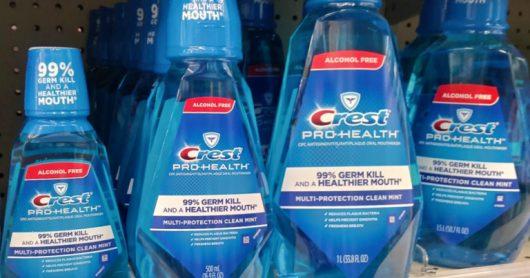 CVS: Crest Pro-Health Mouthwash Only 44¢ Each!