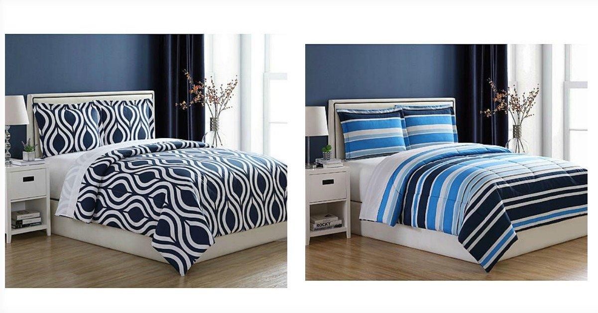 BOGO Free Home Essentials Comforter Sets – Just $12.50 Each WYB 2!
