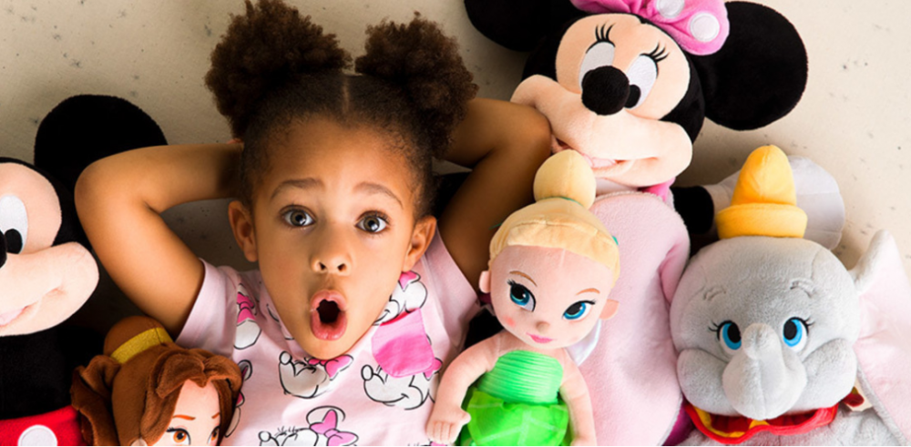 Disney Store – Buy 1 Plush & Get 1 for $2 Sale