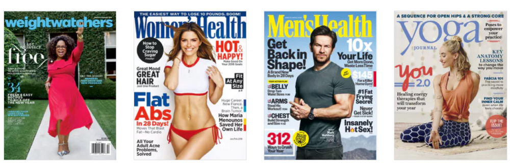 Weight Watchers Magazine and More Starting at $4.95 for 1 Year Subscription