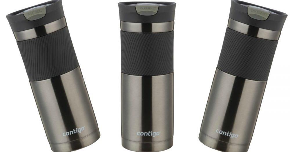 Contigo SnapSeal Insulated Stainless Steel 20 oz. Travel Mug Only .37 (Reg. .99)!