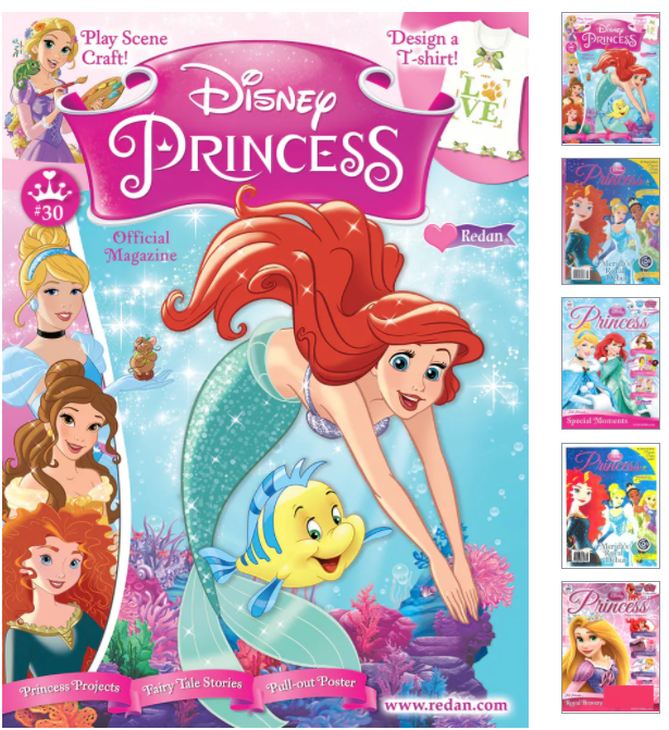 Disney Princess Magazine On Sale Just $13.99 for 1 Year (64% Off)