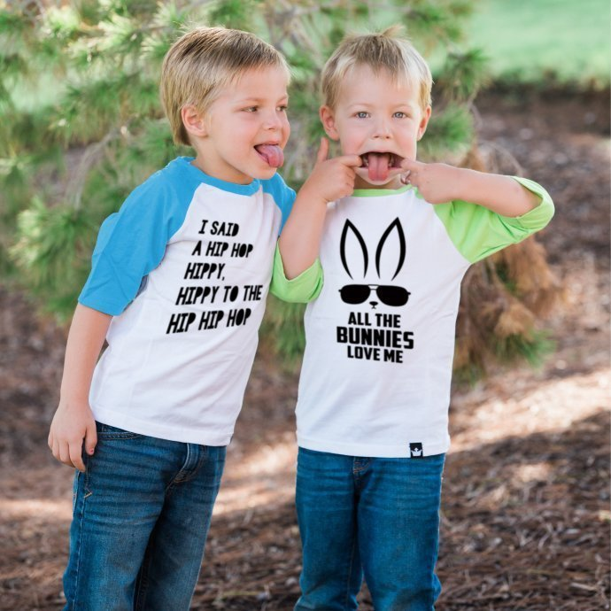 Adorable Easter Raglan Shirts & Bodysuits On Sale .99 (8 Different Options)