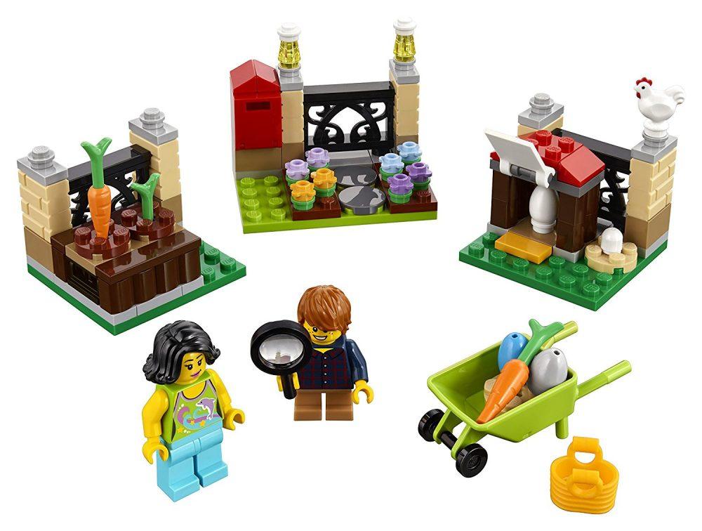 145 Piece LEGO Holiday Easter Egg Hunt Building Kit On Sale $14.94