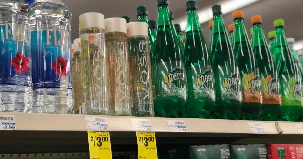 CVS: Four Voss Sparkling Flavored Water Bottles & $20 SpaFinder Gift Code Only $4!